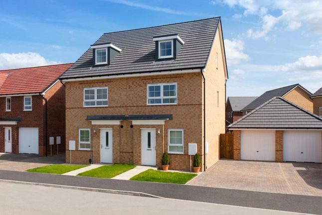"Thumbnail End terrace house for sale in ""Kingsville"" at Morgan Drive, Whitworth, Spennymoor"