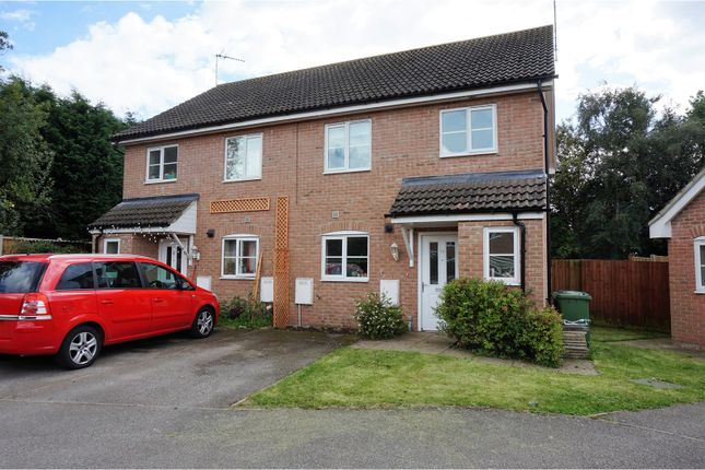 Thumbnail Semi-detached house for sale in Kent Drive, Watlington