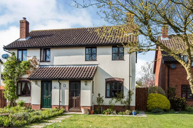 2 bed semi-detached house for sale in Maisies Meadow, Worlingworth, Woodbridge IP13