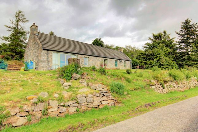 Thumbnail Detached bungalow for sale in Torrisdale, Altass, Lairg, Sutherland