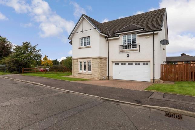 Thumbnail Detached house for sale in Glen Douglas Drive, Craigmarloch, Cumbernauld, North Lanarkshire