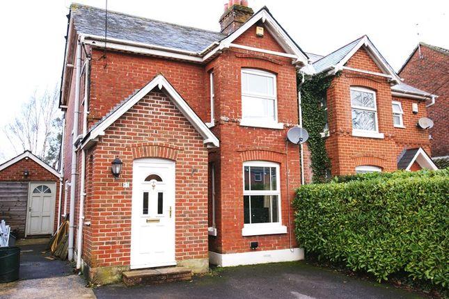 Thumbnail Semi-detached house for sale in Wimborne Road, Corfe Mullen, Wimborne
