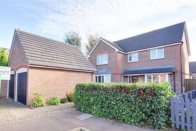 Thumbnail Detached house to rent in Draymans Close, St Michael's Mead, Bishops Stortford, Herts