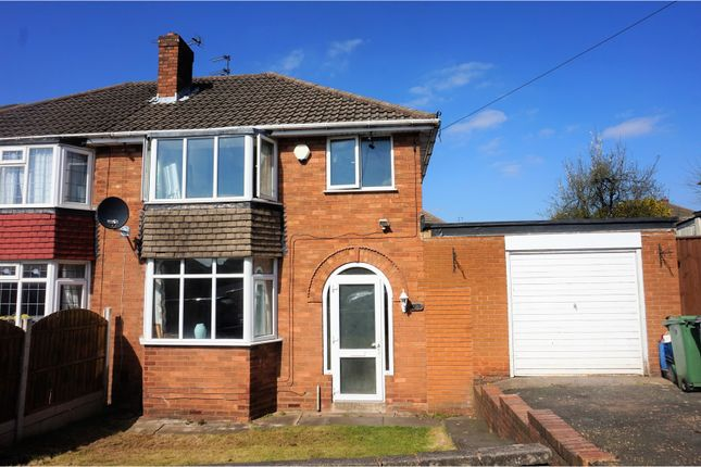 Thumbnail Semi-detached house for sale in Southview Road, Sedgley