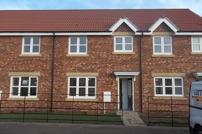 Thumbnail Town house to rent in Brewster Road, Gainsborough