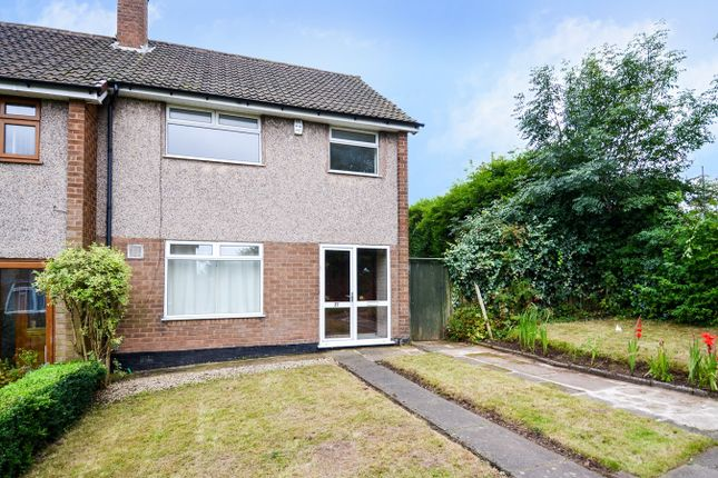 Thumbnail End terrace house to rent in Peach Ley Road, Bournville Village Trust, Birmingham