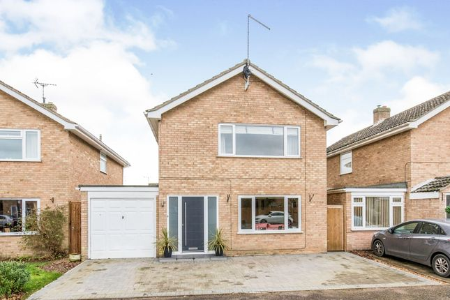 Thumbnail Detached house for sale in Gorse Close, Red Lodge, Bury St Edmunds