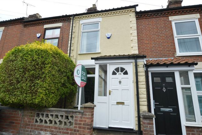 Thumbnail Terraced house for sale in Bell Road, Norwich, Norfolk
