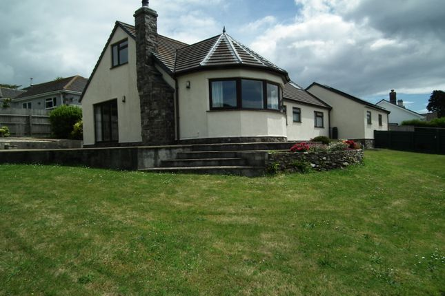 Thumbnail 4 bed detached bungalow for sale in Brentfields, Polperro, Nr Looe, Cornwall