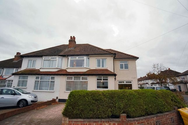 Thumbnail Semi-detached house to rent in St Mary Avenue, Wallington