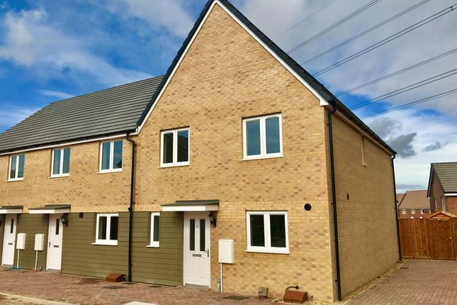 Thumbnail End terrace house for sale in Puffin Place, Leighton Buzzard