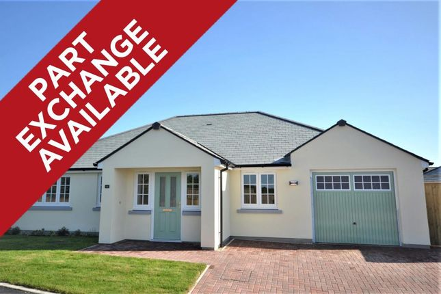 Thumbnail Detached bungalow for sale in Grenville Close, Kilkhampton Road, Bude, Cornwall