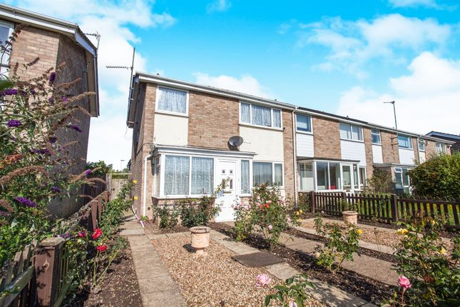 Thumbnail End terrace house for sale in Rockmill End, Willingham, Cambridge