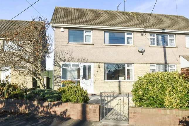 Thumbnail Semi-detached house for sale in St Mellons Road, Marshfield, Cardiff