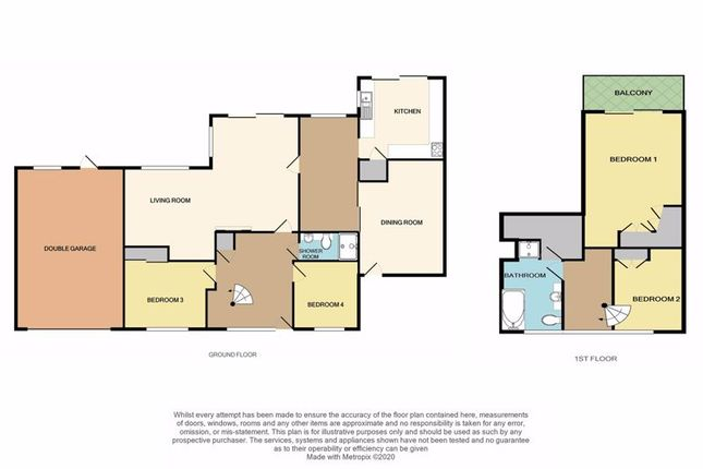 2D Floorplan of Deepway Gardens, Exminster, Exeter EX6