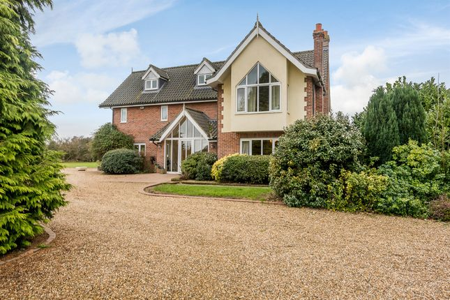 Thumbnail Detached house for sale in River Lane, Southburgh, Thetford