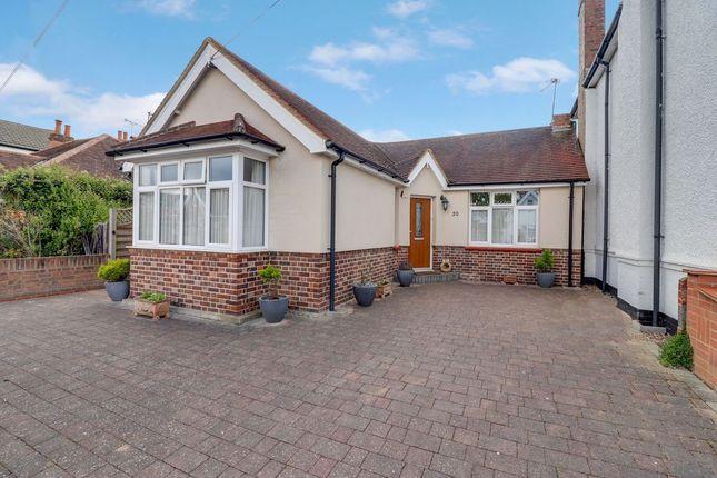 Thumbnail Detached bungalow for sale in Wellington Road, Ashford