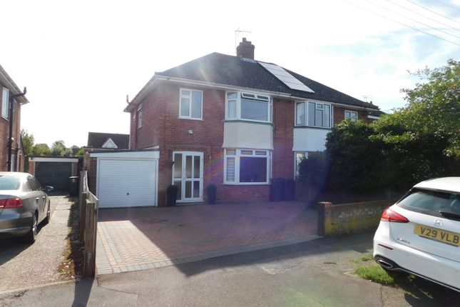 Semi-detached house for sale in Windermere Road, Stowmarket