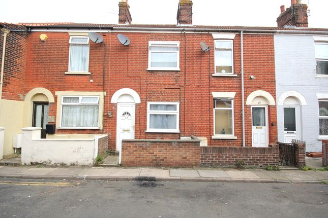 Thumbnail Terraced house to rent in Victoria Street, Great Yarmouth