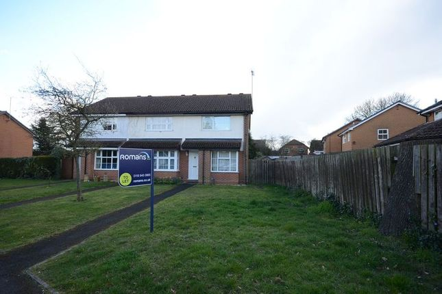 Thumbnail End terrace house to rent in Asda Mall, Lower Earley District Centre, Lower Earley, Reading