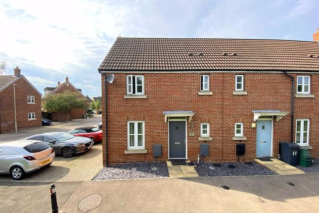 Thumbnail End terrace house for sale in Coltishall Close, Quedgeley, Gloucester