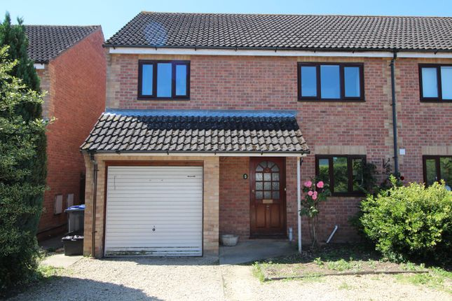Thumbnail Semi-detached house to rent in St. Nicholas Close, Calne