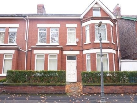 Thumbnail Flat to rent in Clarendon Road, Garston, Liverpool
