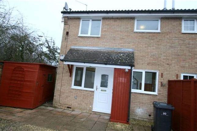 Thumbnail Semi-detached house to rent in Larchwood, Chineham, Basingstoke