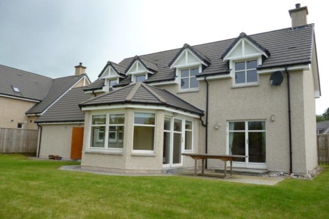 Thumbnail Detached house to rent in Provost Black Drive, Banchory