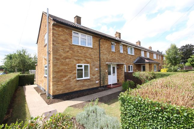 Thumbnail End terrace house to rent in Northfields, Letchworth Garden City