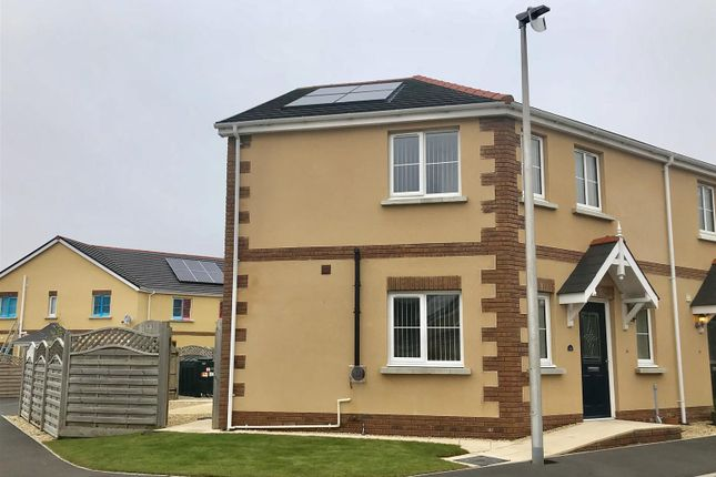 Thumbnail Semi-detached house for sale in Tirydderwen, Cross Hands, Llanelli