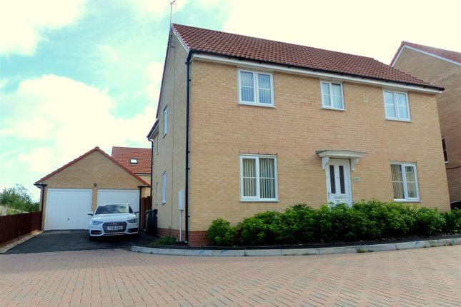 Thumbnail Detached house to rent in Sentinel Close, Worcester