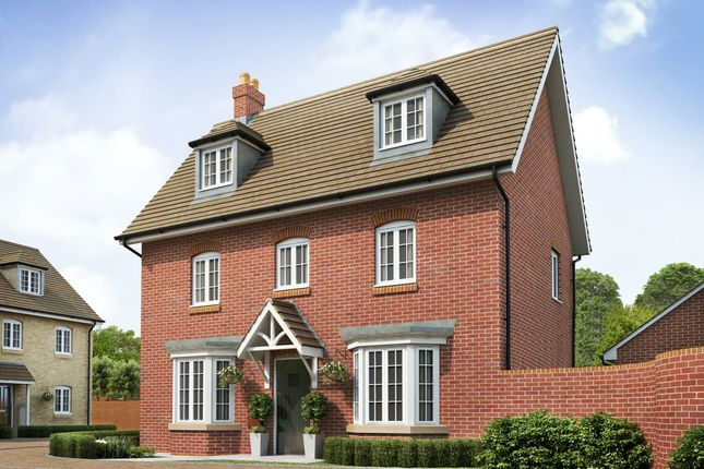 "Thumbnail Detached house for sale in ""Hertford"" at Great Denham, Bedford"