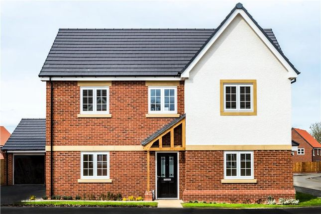 "Thumbnail Detached house for sale in ""Pentrich"" at Warwick Road, Kibworth, Leicester"