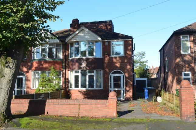 Front of Marford Crescent, Sale, Greater Manchester M33
