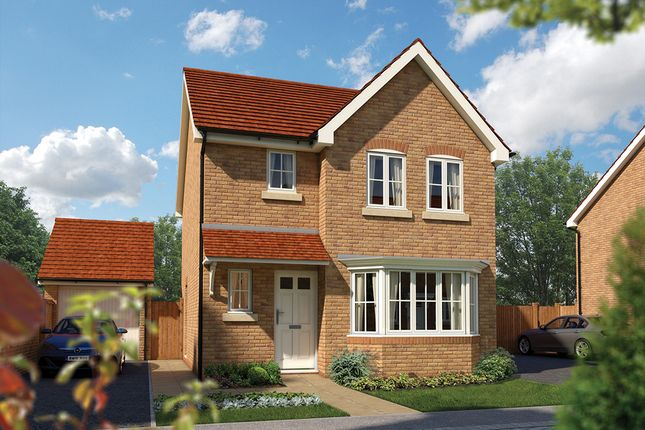 "Thumbnail Detached house for sale in ""The Epsom"" at Priory Fields, Wookey Hole Road, Wells, Somerset, Wells"