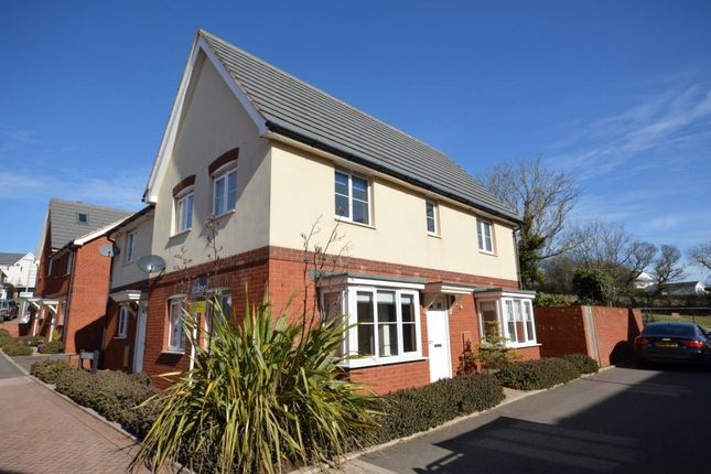Thumbnail Semi-detached house for sale in Elizabethan Way, Teignmouth, Devon