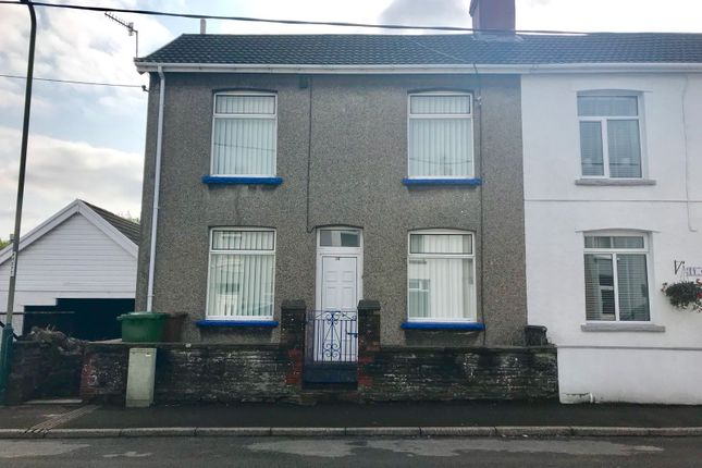 Thumbnail Semi-detached house for sale in Station Terrace, Nelson, Treharris
