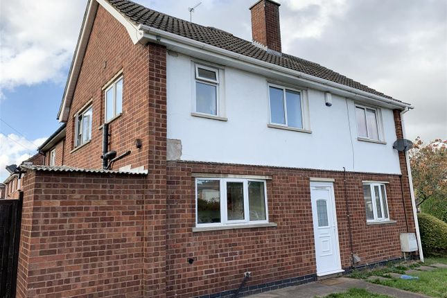 Thumbnail Semi-detached house to rent in Wyvelle Crescent, Kegworth, Derby