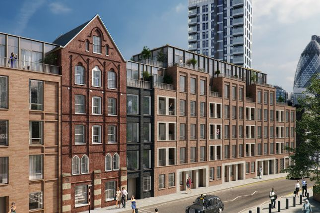 CGI Exterior of Commercial Street, London E1