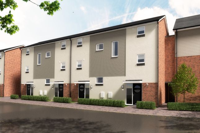 3 bed town house for sale in The Sidings, Hawkins Lane, Burton-On-Trent DE14