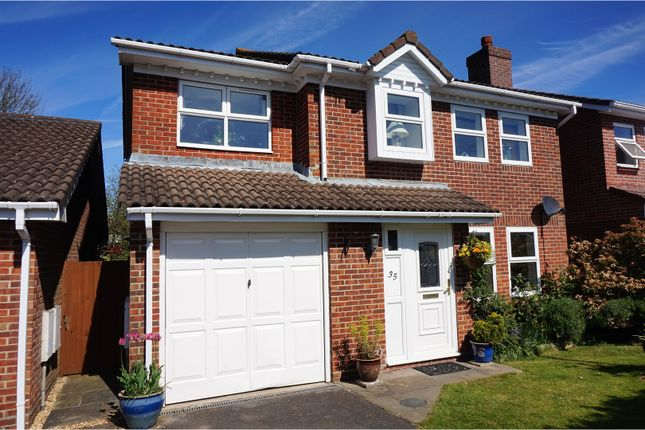 Thumbnail Detached house for sale in Laurel Gardens, Locks Heath