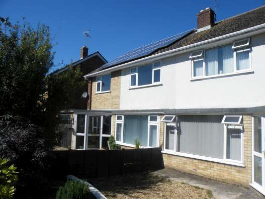 Thumbnail Semi-detached house to rent in Edinburgh Avenue, Werrington, Peterborough