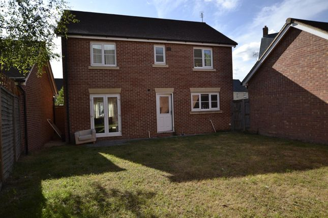 Thumbnail Detached house to rent in Kingsway, Quedgeley, Gloucester