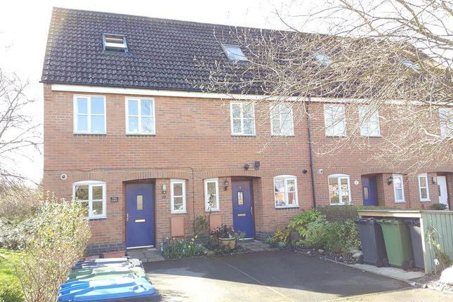 Thumbnail End terrace house to rent in Mossop Court, Masons Road, Stratford-Upon-Avon