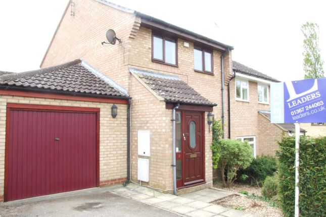 Thumbnail End terrace house to rent in Squires Road, Watchfield, Swindon