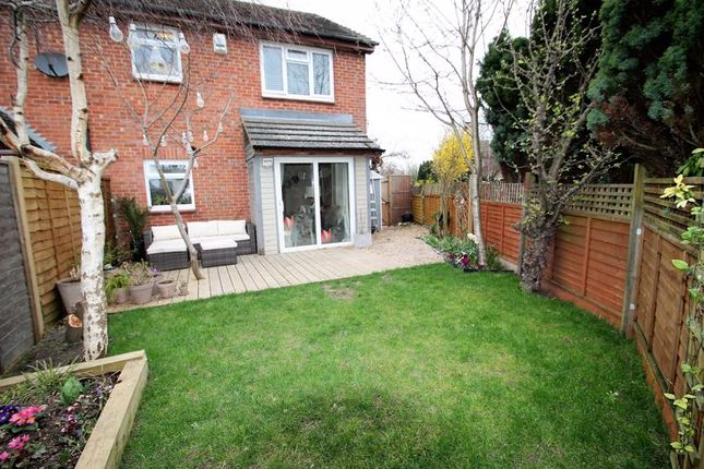 Thumbnail Terraced house for sale in Bridgeman Drive, Houghton Regis, Dunstable