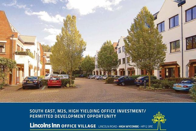 Thumbnail Commercial property for sale in Lincolns Inn Office Village, Lincoln Road, High Wycombe, Buckinghamshire