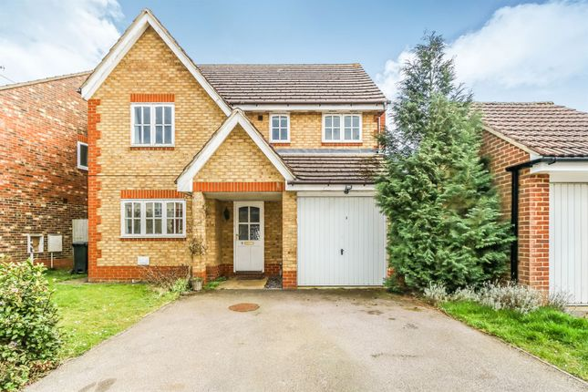 Thumbnail Detached house for sale in Wisteria Close, Rushden