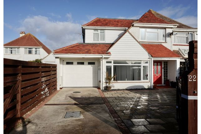 Thumbnail Semi-detached house for sale in Clayton Road, Selsey